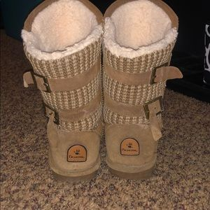 Bear-paw boots